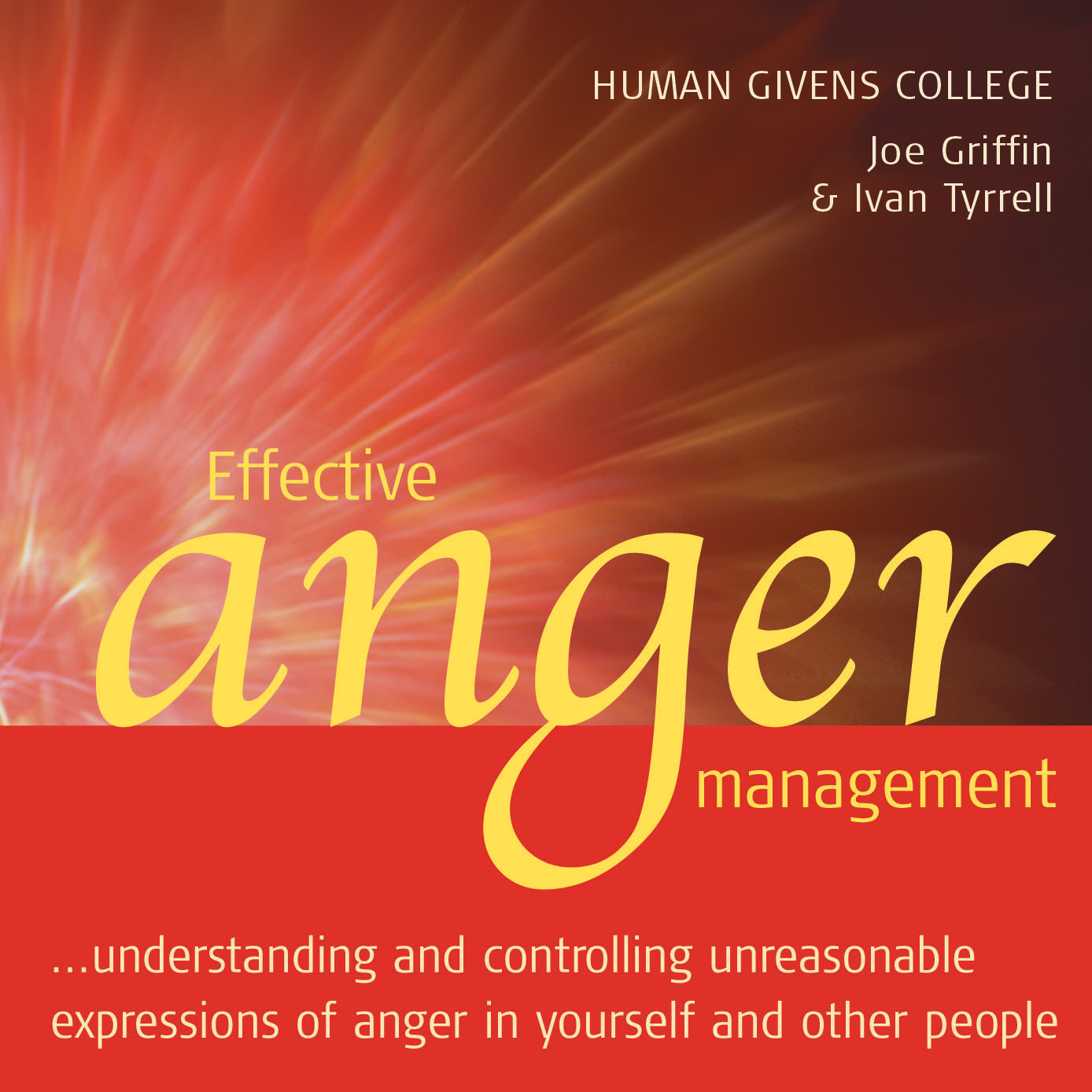 Effective Anger Management – Audio CD