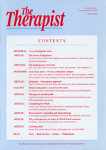 The Therapist Volume 4 - No. 1: 1996