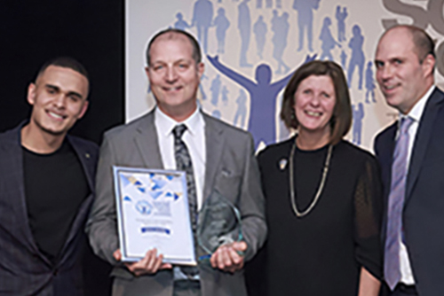 Chris Dyas – Children's Social Worker of the Year