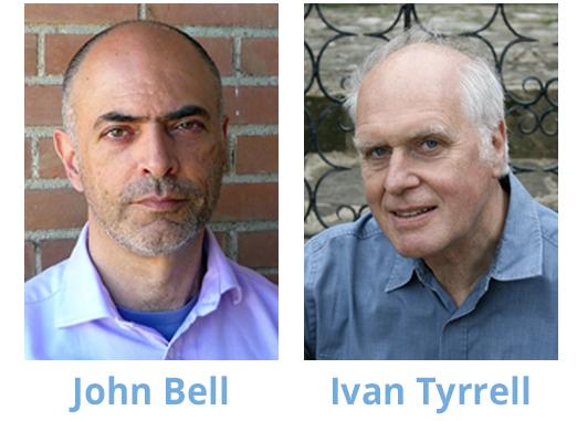 John Bell and Ivan Tyrrell