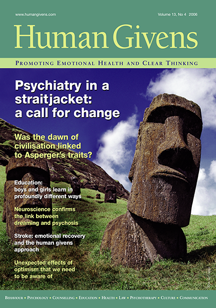 Psychosis: indeed a living nightmare | Human Givens Institute